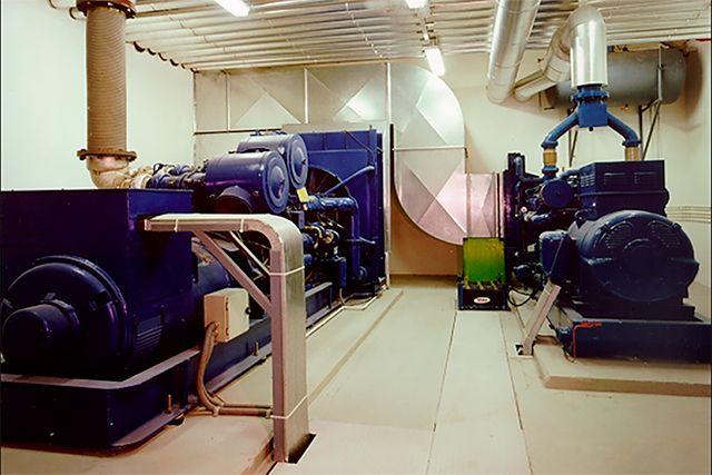 Sala de grupo electrógeno 650 KVA (Vitoria - Gasteiz)
