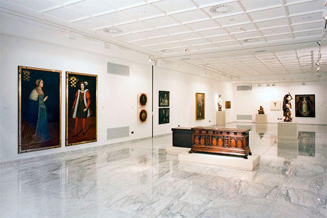 Sala de exposiciones de Caja Vital Kutxa (Vitoria - Gasteiz)