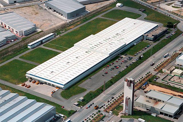 Daewoo Electronics España, Pabellón y Oficinas (Vitoria - Gasteiz)
