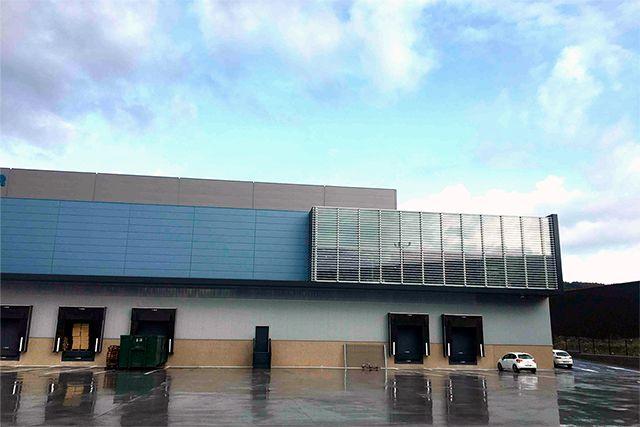 Almacén robotizado para Adaico Truck& Trailer en Amorebieta (Bizkaia)