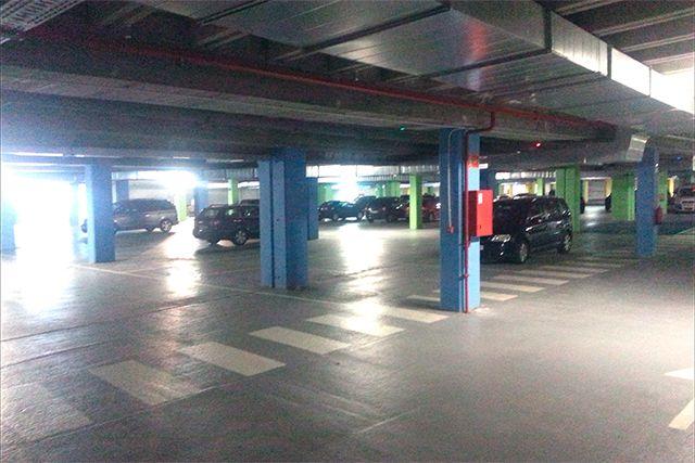 Parking subterráneo vehículos en Llodio (�lava)
